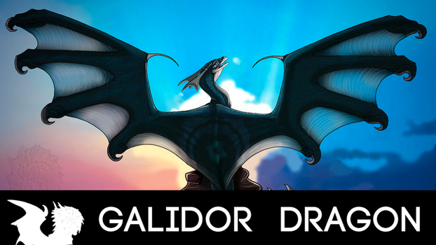HOW TO DRAW YOUR DRAGON TUTORIAL! Wing design! by Galidor-Dragon