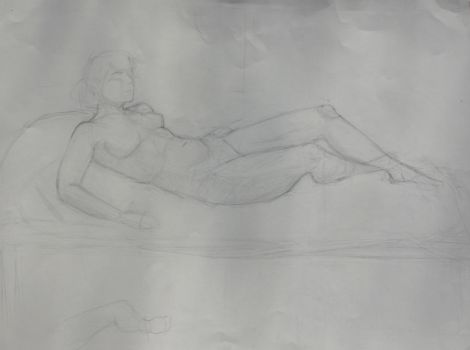 Figure Drawing 3 by Axnara-the-insane