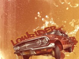 lowrider car wallpaper by onemicGfx