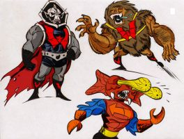 Masters of the Universe colored by Count-KraumBurger1