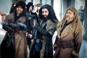 Three dwarves (Leipizger Buchmesse 2013) by Saki-Maru