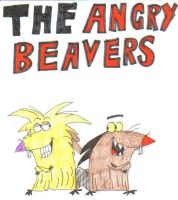 The Angry Beavers by Rabbitearsblog