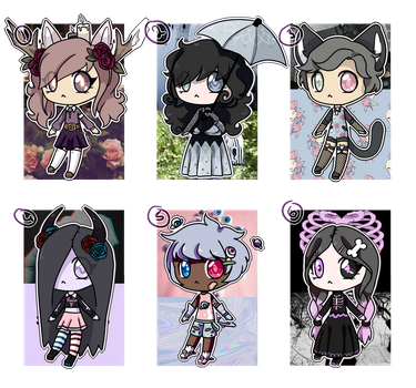 CLOSED!!|Aesthetic Adopts by Rikos-Adopts