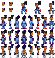 Character Turnaround by BLKMKT-ARCHIVE