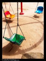 Colorful Swings by MisterExe