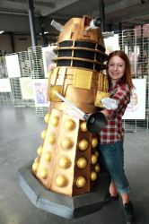 Doctor Who - daleks are our friends by haricovert-cosplay
