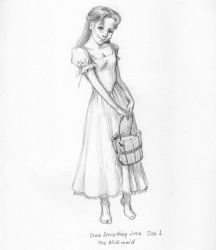 The Milkmaid by The-Tinidril