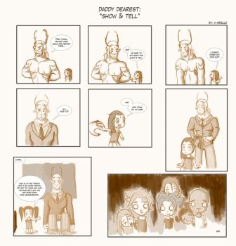 Daddy Dearest: Show and Tell by Ehryel