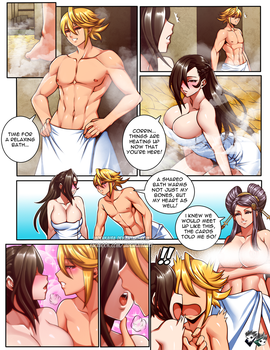COMMISSION: Hot Spring Scramble Page 1 by jadenkaiba