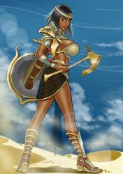 Kephrys, Warrior Princess by Donighal