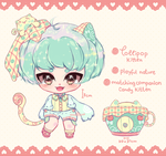 floofie auction: lollipop kitten - CLOSED by mauururu
