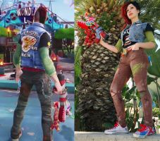 Sunset Overdrive by pixi996
