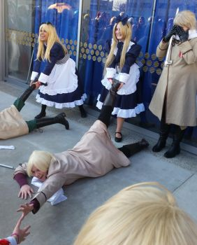 second day at Sac-Hetalia meetup-Rusbel 2 by ArthurJones93