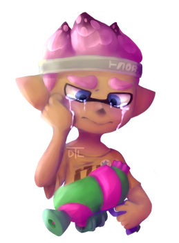 here's a sad bab by DustyToonLink