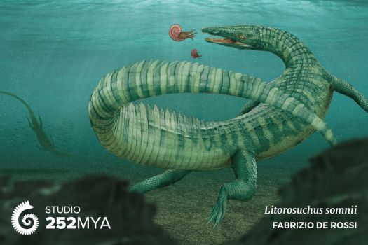 Earth Archives - Litorosuchus somnii by FabrizioDeRossi