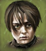 Arya Stark by RedSaucers