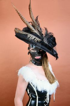 Latex Model goes to Royal Ascot Ladies Day by LatexModel