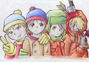 South Park...? by OniGiri999