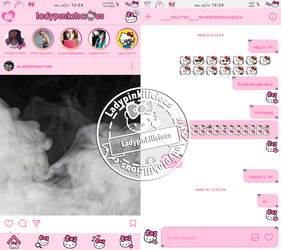 Hello Kitty instagram v10.22 by LadyPinkilicious