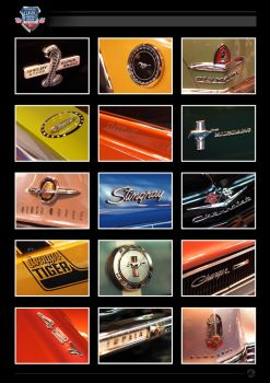 Classic car badges by crezo
