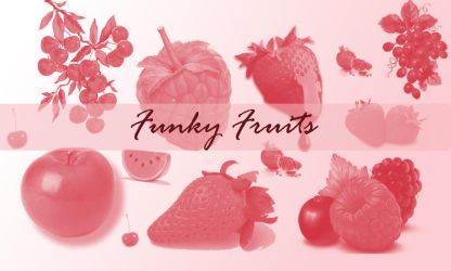 Funky Fruits by princessicha