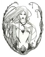 Weaver Witch by Lady-Oolong