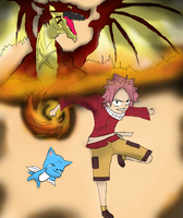 Natsu I'm always with you by HaxGodJet
