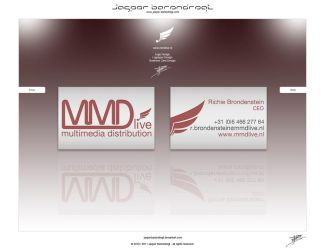 MMDlive BUSINESS CARD DESIGN by JasperBarendregt