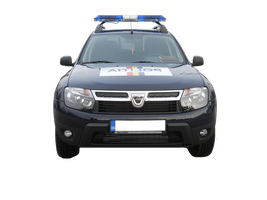 Police Car PNG by silviubacky