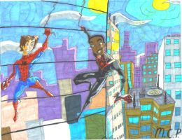 Miles Morales- The Ultimate Legacy by mcp100