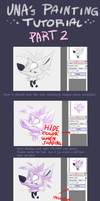 UNA's painting tutorial part 2 by VIXUNA