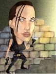 Angelina Croft by KezART
