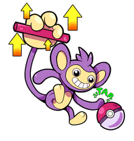 Aipom Used Baton Pass
