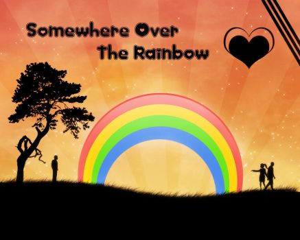 Somewhere over the rainbow by xLadydragon