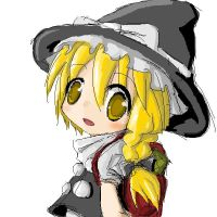 Touhou Marisa by onlineworms