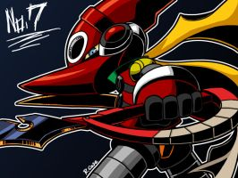 Mighty No 7 by rongs1234