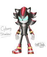 Sonic Boom: Cyborg Shadow (fan made) by GothNebula