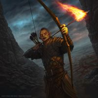 Orc of the Flame by AlMaNeGrA