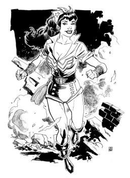 DC Bombshells Wonder Woman by deankotz