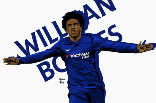 Willian Borges by kalongart