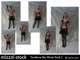 Northern Sky Pirate Pack 1 by mizzd-stock