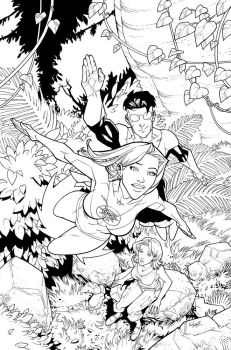 Cover to Invincible 32 by RyanOttley
