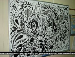doodles on a white board by razangraphics