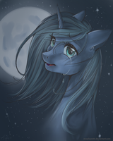 Luna in the moonlight by mrsElisSmitt