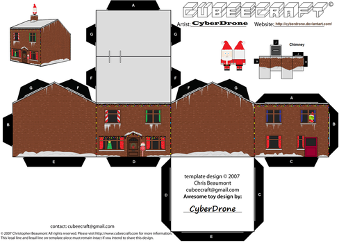 Cubee - Christmas House by CyberDrone