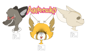Aggretsuko! by gamergurl23