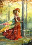 Lady Of The Woods by Flingling
