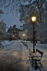 Winter in Cracow by Photograficzna