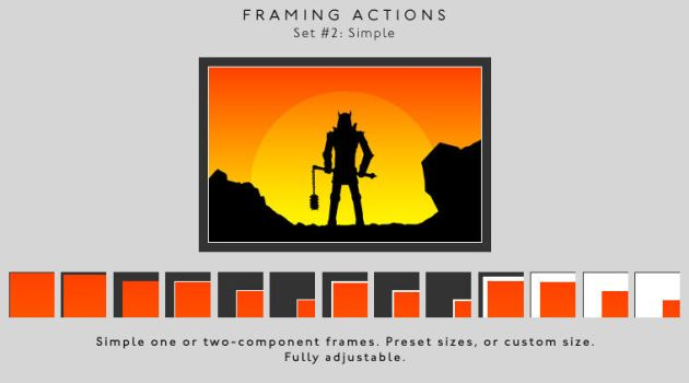 Framing actions - 2 - Simple by chain