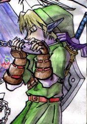 Ocarina Link by stefmichelle